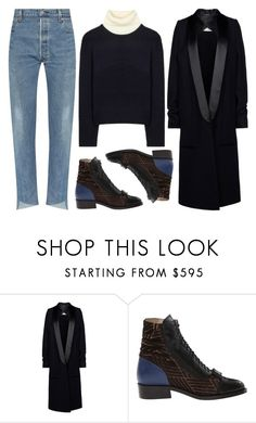 """""""Untitled #1584"""" by m-asquerade ❤ liked on Polyvore featuring Maison Margiela, Preen and Acne Studios"""
