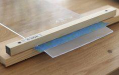 how to make an iPad stand from plexiglass Diy Ipad Stand, Plexiglass Sheets, Woodworking Tutorials, Heat Gun, Project Board, Acrylic Plastic, Acrylic Sheets, Plastic Sheets, Home Improvement Projects