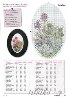 ru & Фото - New Stitches 195 - tymannost Small Cross Stitch, Just Cross Stitch, Cross Stitch Cards, Cross Stitch Flowers, Cross Stitch Designs, Cross Stitching, Cross Stitch Embroidery, Cross Stitch Patterns, Easter Cross