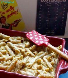 J'ai testé - le Mac & Cheese Vegan (une française de retour de New York !) http://cvegetal.com