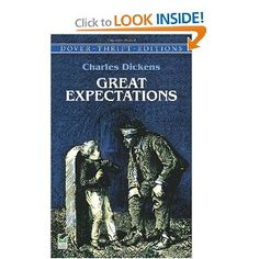 Great Expectations by Charles Dickens -- why is this one on my list? It's here because I like social realism, I was born in the East End of London, my husband has told me for many years that I'd like Dickens, and I feel unlearned because I've read so few classics. So this year it's Dickens.