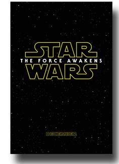 #SW7 #StarWars7 #TheForceAwakens The Force Awakens Star Wars VII 7 Promo Flyer Poster >>ConcertPoster.org