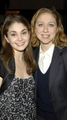 Chelsea Clinton and Kathryn Morgan, awardee (Photo by Gary Gershoff/WireImage) via @AOL_Lifestyle Read more: http://www.aol.com/article/news/2016/11/04/chelsea-clinton-shows-up-in-latest-hillary-clinton-email-dump/21599226/?a_dgi=aolshare_pinterest#fullscreen