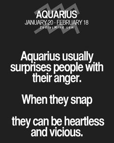 #aquarius because I put up with it for far too long before that!