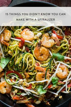 15 Things You Didn't Know You Could Make with a Spiralizer via @PureWow
