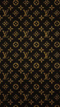 Louis Vuitton Dark Pattern Art #iPhone #5s #wallpaper