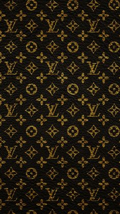 Louis Vuitton Dark Pattern Art #iPhone #5s #wallpaper