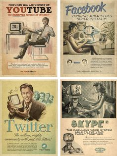 Social Media in the sixties