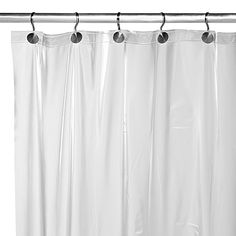 Heavy Weight Frost Shower Curtain Liner 999 Vinyl Curtains Guest Bathroom Remodel Bed