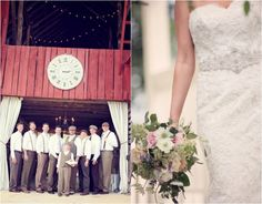 Franklin TN Barn Wedding At Southall Eden - Rustic Wedding Chic