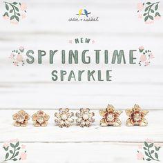 Shop new springtime sparkle on my Chloe + Isabel boutique Http://www.chloeandisabel.com/boutique/laceykorson