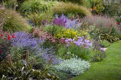 The perennial border at The Garden of St Erth. Photo by Claire Takacs.