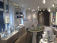 Elemis: Can you spot it? The OSPro has been built in & given air vents to allow the fragranced airflow to circulate the space. Vanity, Space, Furniture, Home Decor, Dressing Tables, Floor Space, Powder Room, Decoration Home, Room Decor