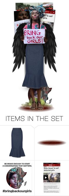 """""""I Am A Woman, Naomi Wachira"""" by blendasantos ❤ liked on Polyvore featuring art, BringBackourGirls, freeourchildren and freeourgirls"""