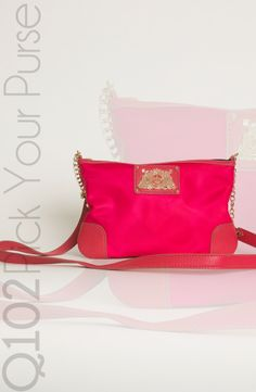 Juicy Couture - Everyday Crossbody in Hot Pink.  Go to wkrq.com to find out how to play Q102's Pick Your Purse!