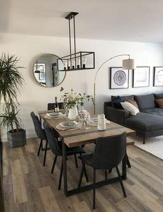 Home tour: our living room Home Room Design, Dining Room Design, Home Design Decor, House Design, Home Decor, Home Living Room, Living Room Interior, Small Living Rooms, Living Room Modern