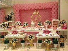 Festa digna de uma princesa;;;linda decoração!