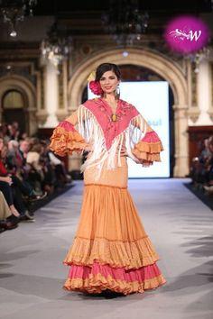 es - We Love Flamenco 2018 - Pitusa Gasul Our Love, Sari, 3, Dresses, Style, Fashion, Flamenco Dresses, Events, Saree