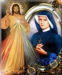 St. Faustina, The Apostle of Divine Mercy.