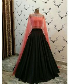 Apr 2020 - Buy New Latest Women (लहंगा) Lehenga Choli Designs 2020 Indian Wedding Gowns, Indian Gowns Dresses, Girls Dresses, Wedding Dresses, Indian Designer Outfits, Indian Outfits, Designer Dresses, Lehnga Dress, Lehenga Choli