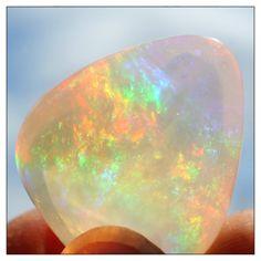 ContraLuz Opal museum grade collector stone rare by KalliopeBeads on Etsy