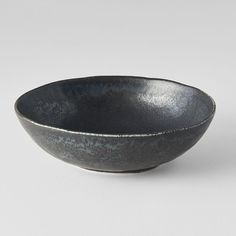 Oval bowl in black colour with pattern of structured surface from collection BB Black. Black Bowl, Product Offering, Food Pictures, Decorative Bowls, Japan, Ceramics, Medium, Tableware, Bb