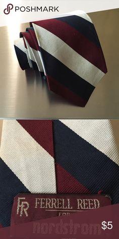 Ferrell Reed Striped Tie Ferrell Reed Striped Tie Ferrell Reed Accessories Ties