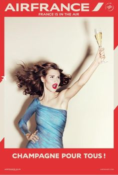 Air France France is in the Air 2 featuring Anais Pouliot