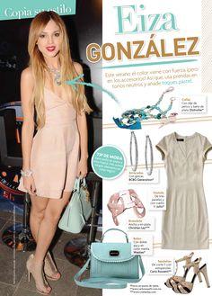 La #revista #TVyNOVELAS DE #MEXICO le brinda un espacio a uno de nuestros #brazaletes de chapado #plata. #mujer #pulsera