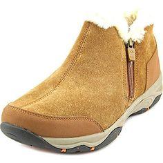 Easy Spirit Women's Prisco Winter Bootie, Medium Brown, Size 11.0 >>> For more information, visit image link.