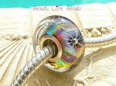 SEA SPIDER OPAL Fully Lined Sterling Silver Big by beachlifebeads, $23.00