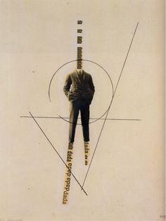 johnheartfield:  John Heartfield   Dada Picture   c.1923
