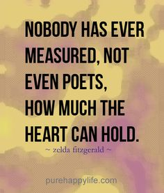 #life #quotes see more on purehappylife.com - Nobody has even measured, not even..