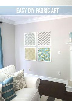 DIY Fabric Art