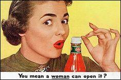 10 vrouwonvriendelijke reclameposters van vroeger