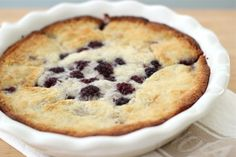Jenny Steffens Hobick: Mrs. Ross's Blackberry Cobbler   Baking with Emma