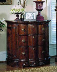 Edwardian Demilune Chest by Pulaski Furniture