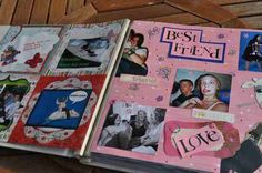 Scrap book for the bride to keep :)