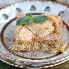 Необычная шарлотка — яблоки, изюм и ириски-домашние рецепты с фото
