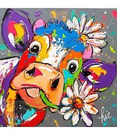 246 beste afbeeldingen vrolijke schilderijen koe