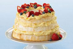 See how quick and easy our delicious Angel Lush is to make. Then wow your next crowd with this angel cake's impressive looks and exquisite tastes.