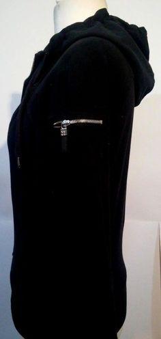 Sweaty Betty Solid Black Long Sleeve Women's Cotton Hoodie Size M #SweatyBetty #Hoodie #Sportswear #Ebay