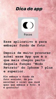 O app Focus embaça o fundo das fotos Instagram Editing Apps, Gif Instagram, Instagram Story Ideas, Fotografia Tutorial, Insta Posts, Tumblr Wallpaper, Photo Tips, Photo Editing, Lettering