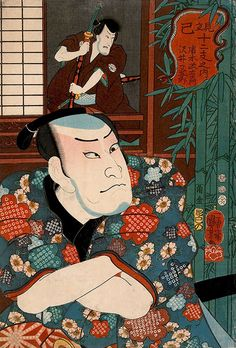 Kuniyoshi / Schauspieler
