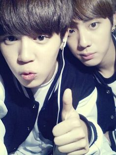 jimin and jin twitter update