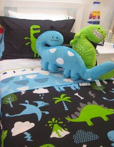 Welcome to My Room Cute Dinosaur, Dinosaur Stuffed Animal, Boy Room, Kids Room, Kids Decor, Big Boys, Dinosaurs, Monsters, Room Ideas