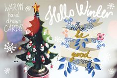 Hello Winter by marushabelle on Creative Market