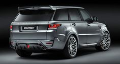 Startech Widens Up New Range Rover Sport - Carscoops