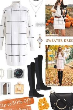 Free Shipping & Easy Return. Up to 30% Off. Warm Welcome Grid Turtleneck Sweater Dress @thecharmingolive @looklovelyliving. Shop for the cutest sweater at #outfit #clothing #fashion #outfitidea #sweater #sweaterdress #womenfashion#grid #warm
