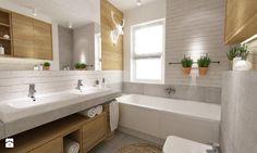 łazienki w stylu skandynawskim - Średnia łazienka w domu jednorodzinnym, styl skandynawski - zdjęcie od Grafika i Projekt architektura wnętrz
